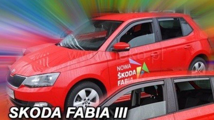 Paravanturi Geam Auto auto Skoda Fabia, an fabr. 2014- ( Marca Heko - set FATA )