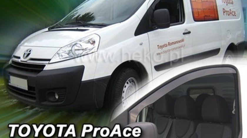 Paravanturi Geam Auto auto Toyota ProAce, 2013- ( Marca Heko - set FATA )
