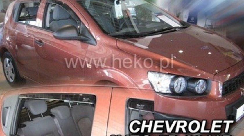 Paravanturi Geam Auto CHEVROLET AVEO Hatchback an fabr. 2011- ( Marca Heko - set FATA + SPATE )
