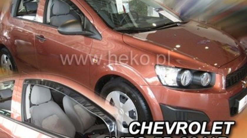 Paravanturi Geam Auto CHEVROLET AVEO Sedan ( limuzina) an fabr. 2011- ( Marca Heko - set FATA )