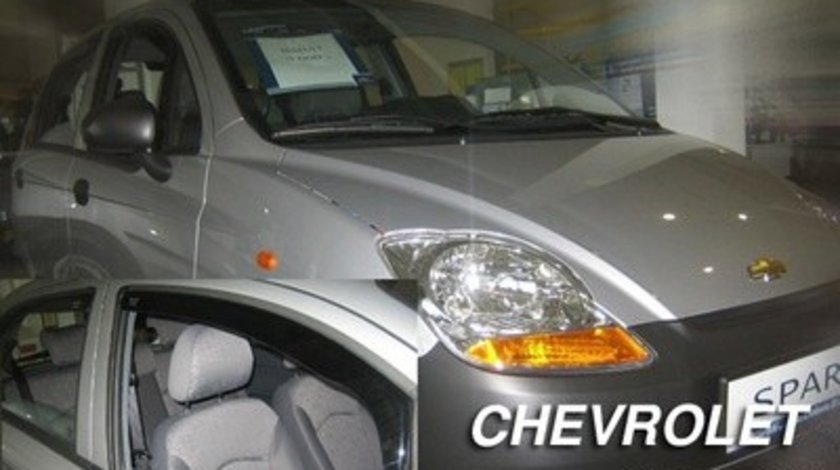 Paravanturi Geam Auto CHEVROLET SPARK an fabr. 2005 - ( Marca Heko - set FATA + SPATE )