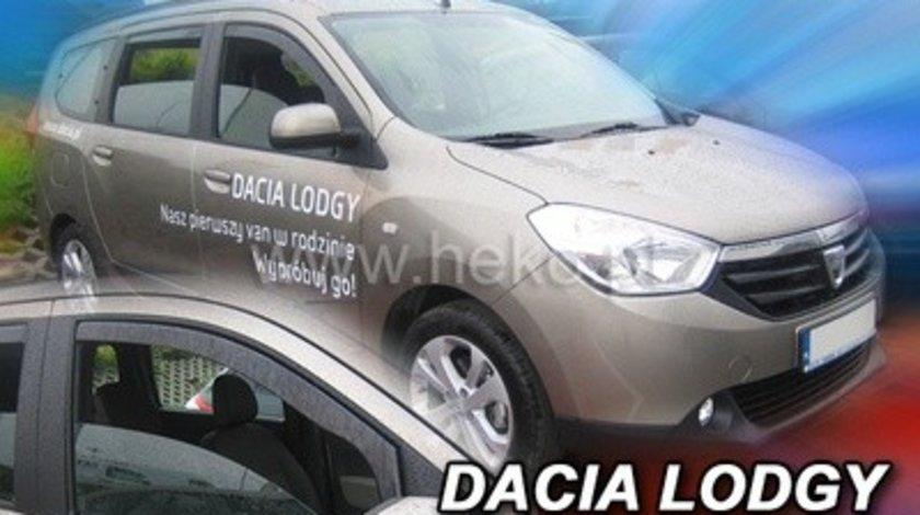 Paravanturi Geam Auto Dacia Lodgy an fabr. 2012 ( Marca Heko - set FATA + SPATE )