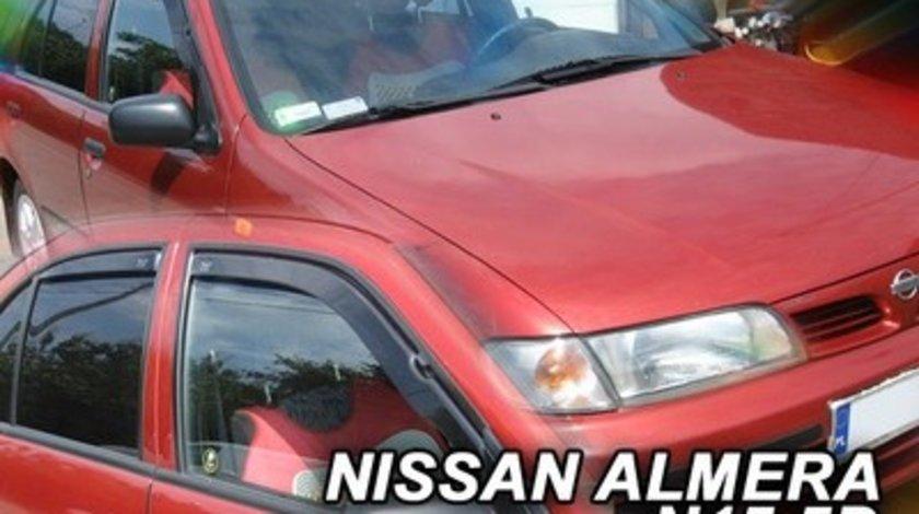 Paravanturi Geam Auto NISSAN ALMERA Hatchback an fabr. 1995-2000 ( Marca Heko - set FATA )