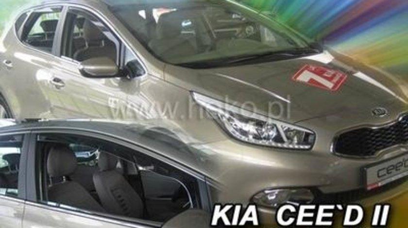 Paravanturi Geam Auto pentru Kia Ceed`, an fabr. 2012- ( Marca Heko - set FATA )
