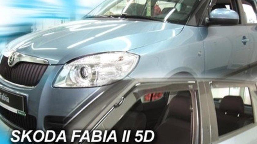 Paravanturi Geam Auto SKODA FABIA Hatchback an fabr. 2007 - ( Marca Heko - set FATA )