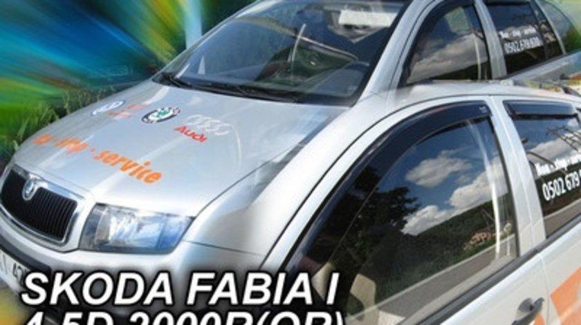 Paravanturi Geam Auto SKODA FABIA Hatchback si Combi an fabr. 2000 - ( Marca Heko - set FATA + SPATE )