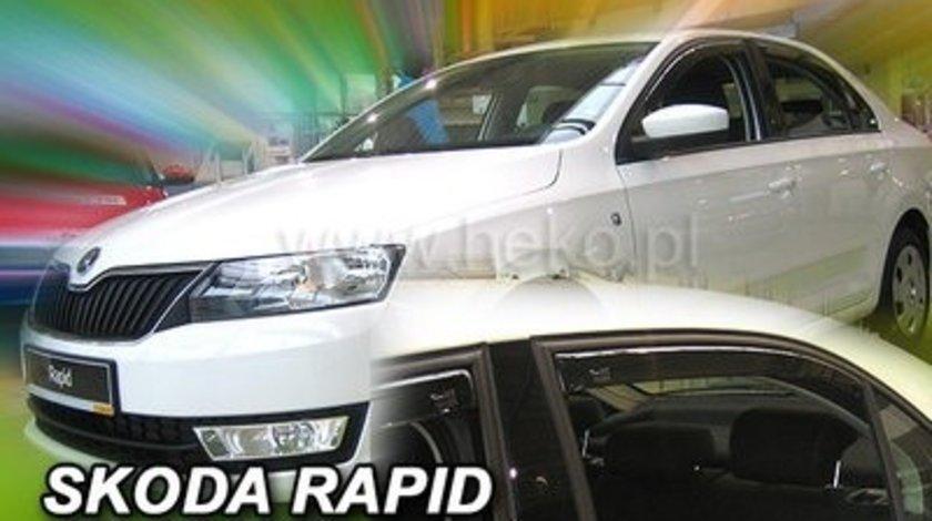 Paravanturi Geam Auto Skoda Rapid, an fabr 2012- ( Marca Heko - set FATA )
