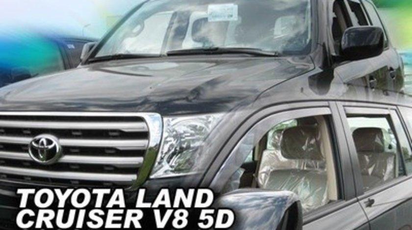 Paravanturi Geam Auto TOYOTA LAND CRUISER V8 an fabr. 2008- ( Marca Heko - set FATA + SPATE )