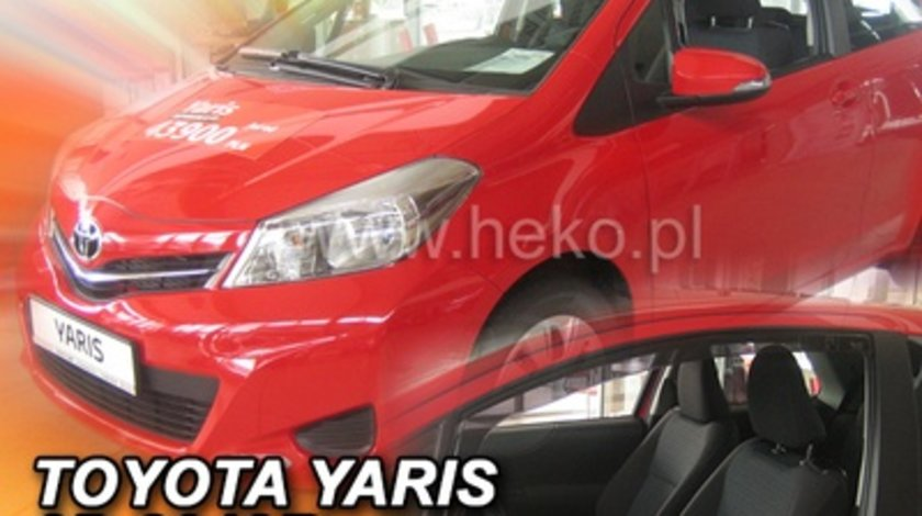Paravanturi Geam Auto Toyota Yaris, an fabr. 2011 ( Marca Heko - set FATA )