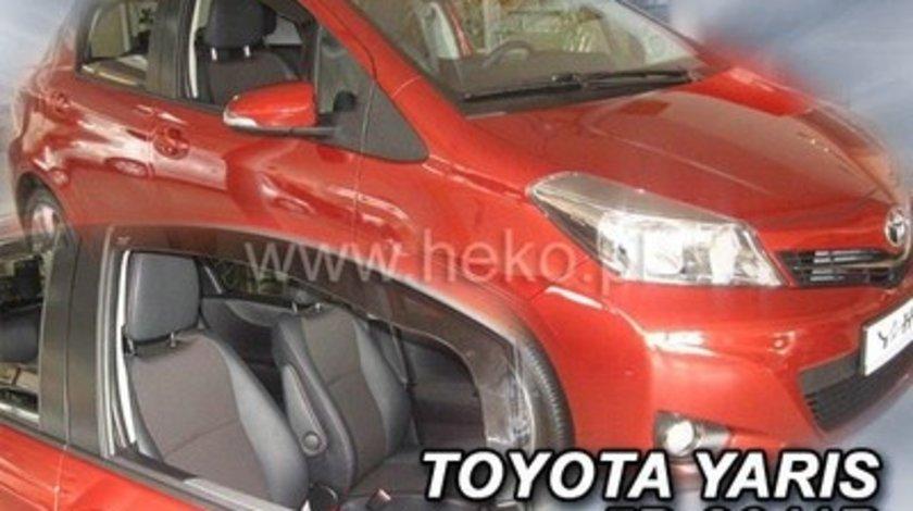 Paravanturi Geam Auto TOYOTA YARIS Hatchback an fabr. 2011- ( Marca Heko - set FATA + SPATE )