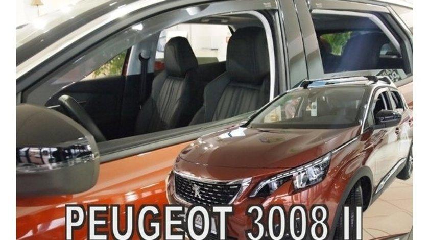 Paravanturi Peugeot 3008, dupa 2017 Set fata si spate – 4 buc. AutoLux