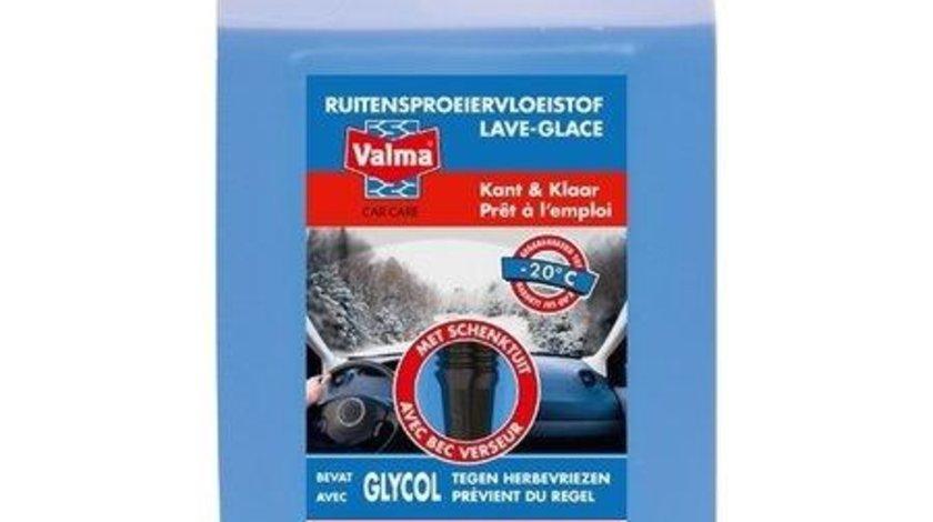 Parbrizol iarna Valma , solutie spalat parbriz pentru anotimpul de iarna 5L , -20 grade Celsius