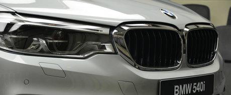 Parca-i un Septar. Cum arata de aproape noul BMW Seria 5