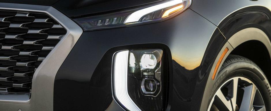 Parca nu se mai termina. Cea mai noua masina de la Hyundai, un SUV de aproape cinci metri lungime