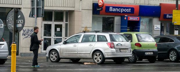 Parcagii ilegali vor infunda puscaria daca iti mai cer 5 lei ca sa-ti dea un loc de parcare