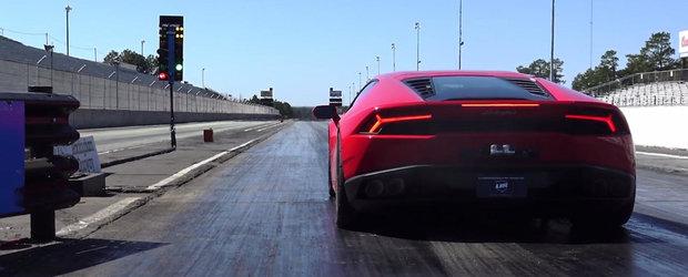 Parcurge 402 metri in doar 7.8 secunde. Iata cel mai rapid Lamborghini de strada al planetei!