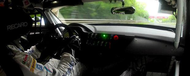 Parcurge un tur la Nurburgring la bordul unui BMW Z4 GT3!