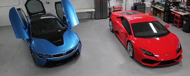 Parerea unui posesor de Lamborghini despre noul BMW i8