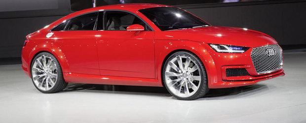 Paris 2014: Audi TT Sportback prefigureaza un rival pentru Mercedes CLA