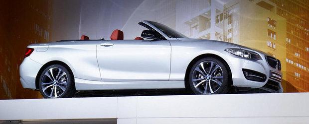 Paris 2014: BMW Seria 2 renunta la plafonul fix pentru unul retractabil
