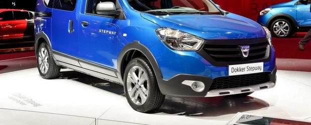 Paris 2014: Dacia Dokker si Lodgy primesc cate o versiune Stepway