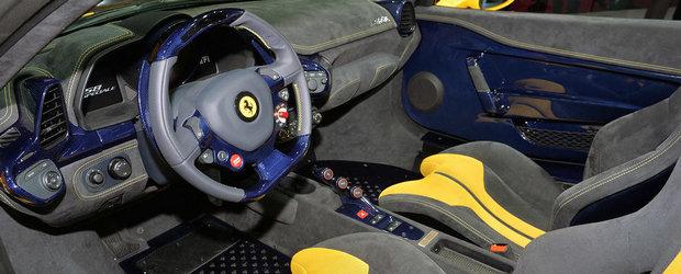Paris 2014: Ferrari 458 Speciale Aperta promite senzatii tari in aer liber