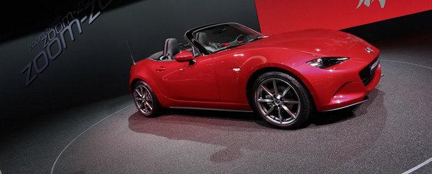 Paris 2014: Mazda anunta motorizarile noului MX-5