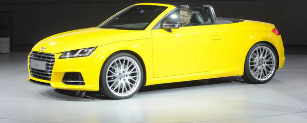Paris 2014: Noul Audi TT Roadster ne face sa regretam sfarsitul verii