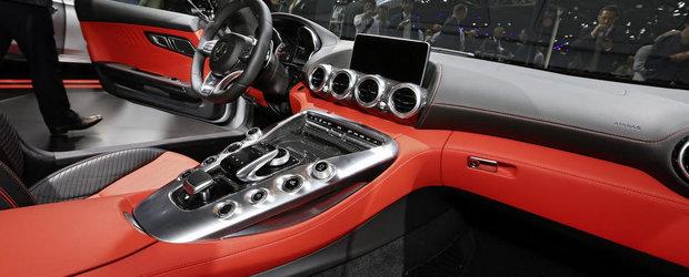 Paris 2014: Noul Mercedes AMG GT ne incanta privirile cu liniile si formele sale