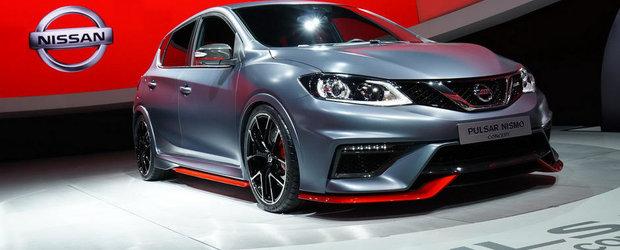 Paris 2014: Noul Nissan Pulsar Nismo ameninta hot-hatch-urile europene