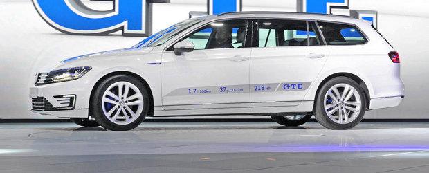 Paris 2014: Noul VW Passat GTE se lauda cu un consum de 1.6 l/100 km