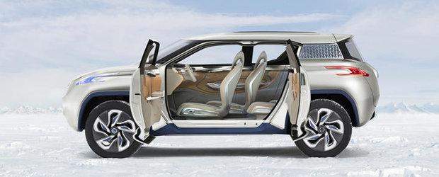 Paris Motor Show 2012: Nissan dezvaluie TeRRA, un concept pe baza de hidrogen