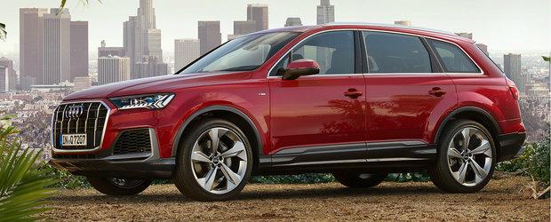 Pariu c-o sa-l vezi la fiecare colt de strada? Uite cat costa in Romania noul Audi Q7 Facelift