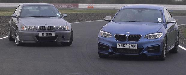 Pariul de 40.000 euro: BMW M235i versus BMW M3 CSL. Tu ce alegi?