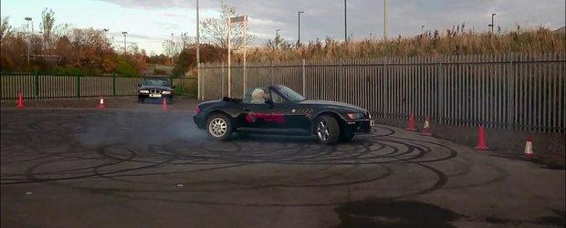 Pasiunea nu are varsta: O bunicuta de 82 ani se invarte la bordul unui BMW