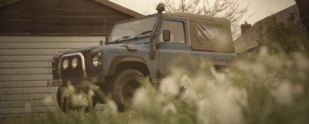 Pasiunea pentru Land Rover Defender, tancul de off-road