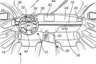 Patent Volvo pentru volanul glisant