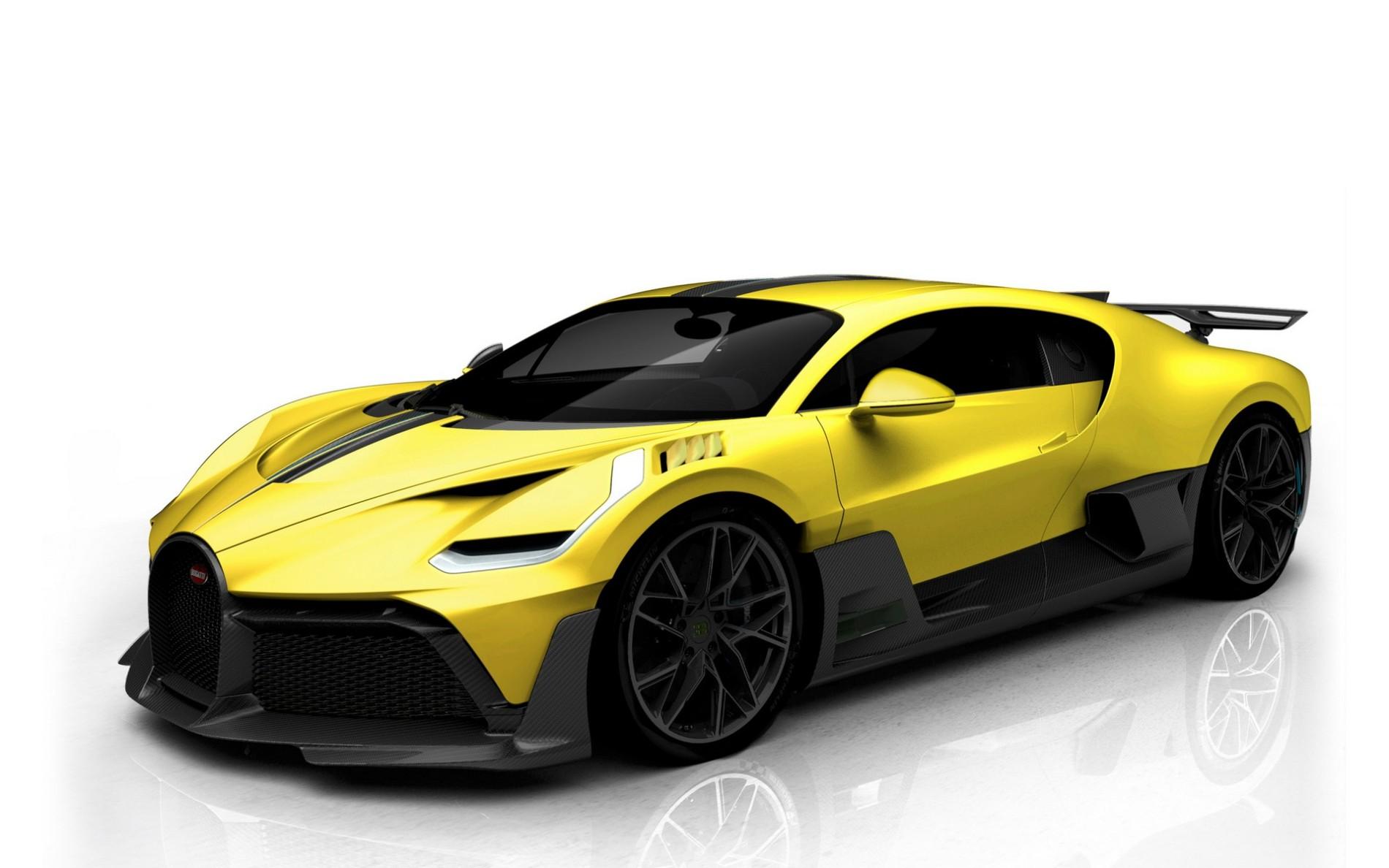 Patru Bugatti Divo - Patru Bugatti Divo