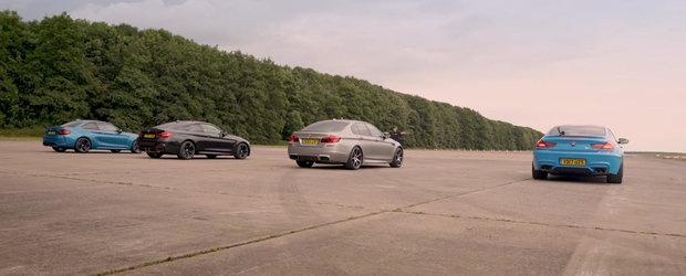 Patru dintre cele mai populare BMW-uri M se aliniaza la start. Cine crezi ca trece primul linia de sosire?