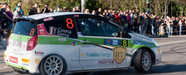 Patru echipaje Citroen in top 10 la Raliul Timisului