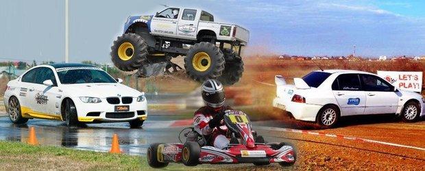 Patru locuri din Bucuresti in care pasionatii de viteza isi pot satisface nevoia de adrenalina