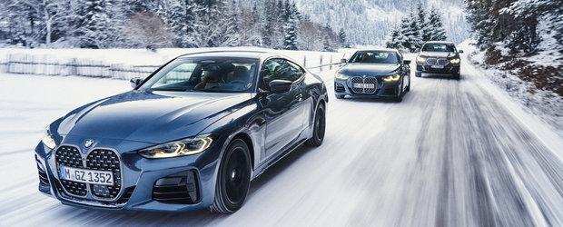 Patru modele BMW prin obiectivul a 7 fotografi auto din Romania. Imagini de colectie