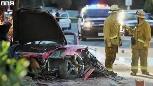 Paul Walker - Imagini accident 2