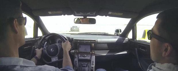 Paul Walker testeaza modelul Lexus LFA. VIDEO AICI!