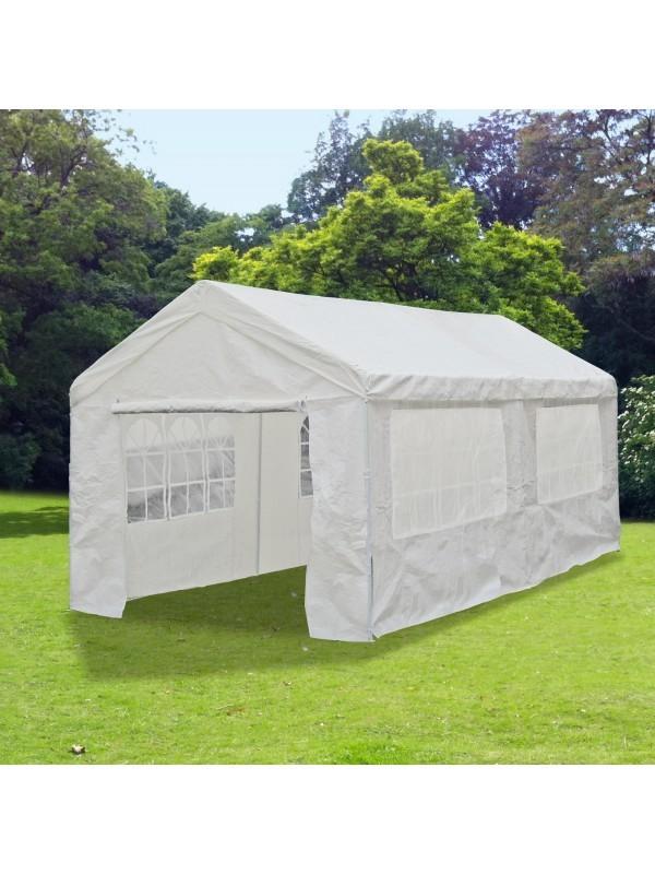 Pavilion gradina dublu / cort Racing cu laterali 6 x m