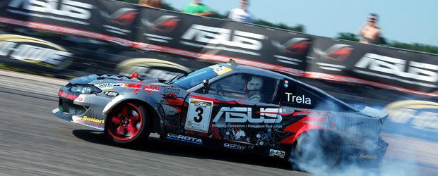 Pawel Trela, Campionul Poloniei, face show la Drift Grand Prix