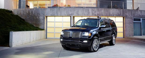 Pazea, Cadillac Escalade! Lincoln anunta noua generatie a modelului Navigator!