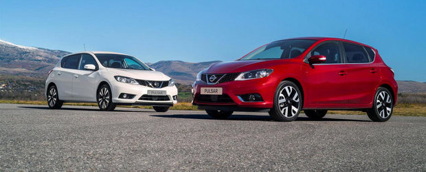 Pazea, VW Golf: Nissan Pulsar primeste un 1.6 turbo de 190 CP!
