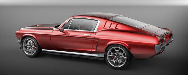 Pe-afara Mustang, pe dedesubt Tesla. Aviar R67 face suta in 2.2 secunde si are autonomie de 507 km