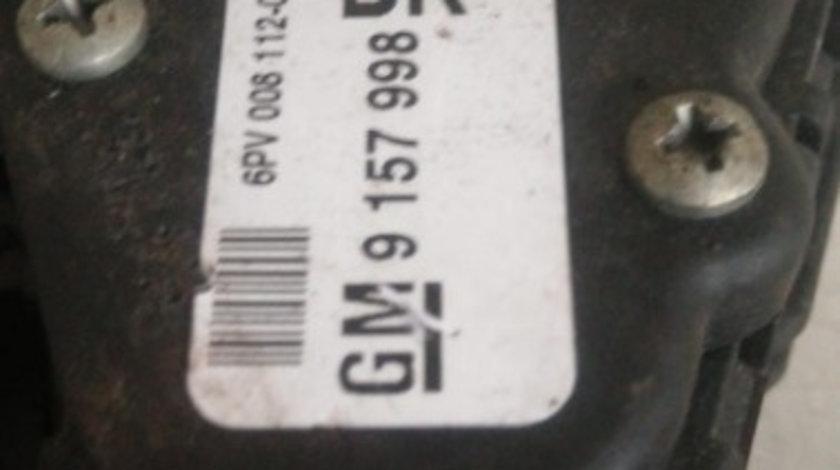 Pedala acceleratie Opel Astra G cod 9157998 BK